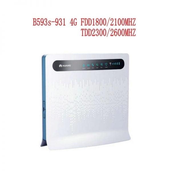 خرید مودم هواوی Huawei B593 b593s-931 3G 4G LTE modem router with SIM card slot Antenna port