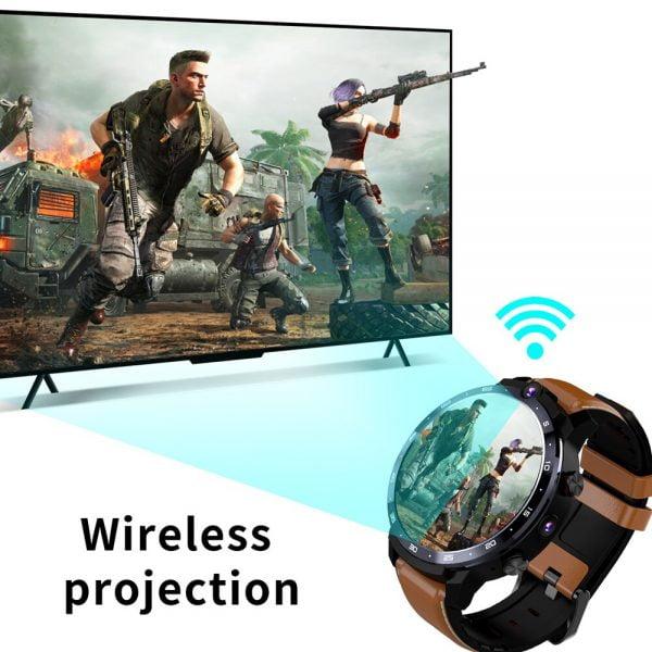 خرید ساعت هوشمند LEMFO LEM12 Pro 4G Smart Watch Android 10 GPS WIFI 4GB 64GB Man Smartwatch Men Android 10.0 900Mah