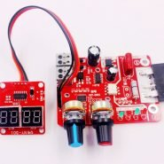 NY-D01 100A Digital display Spot welding time and current controller panel timing Ammeter Spot Welders control Board