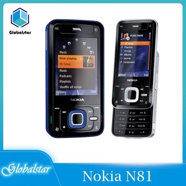 خرید گوشی نوکیا کلاسیک Nokia N81 Refurbished Unlocked Original Nokia N81 GSM 3G network WIFI 2MP camera FM 2.4″ Phone