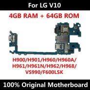 مادربرد گوشی ال جی Original Motherboard For LG V10 H900 H901 H960 H960A H961 H961N H962 H968 VS990 F600LSK Logic Board With