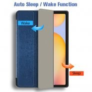 Pencil Case for Samsung Galaxy Tab S6 Lite 10.4 SM P610 P615 Pencil Holder Funda Capa Smart Soft TPU Protective Sleepcover