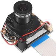 Raspberry Pi 4 B 3 B Camera Module Automatic IR-Cut Switching Day/Night Vision Video Module Adjustable Focus 5MP 1080p