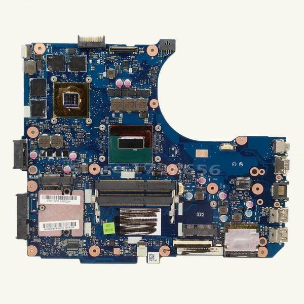 خرید مادربرد لپ تاپ Send board G551JW Motherboard i7-4710HQ GTX960M For Asus G58J G551JW N551JM N551JW N551JX laptop Motherboard G551JW