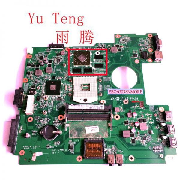 مادربرد لپ تاپ فوجیتسو Suitable for Fujitsu Lifebook AH530 laptop motherboard DAFH2AMB6F0 DAFH2AMB6G0 HD550V 1GB GPU