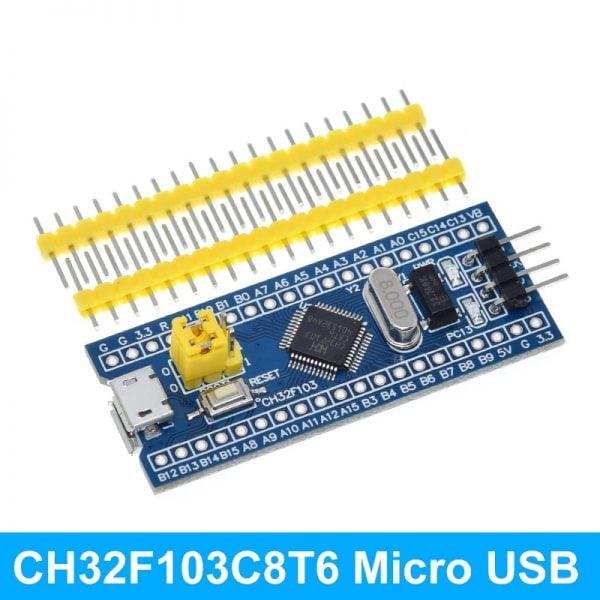 Type-C STM32F103C8T6 STM32F103CBT6 ARM STM32 Minimum System Development Board Module For Arduino Mini STM8 Simulator Download