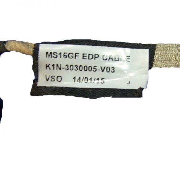 خرید کابل ال سی دی اپ تاپ ام اس آی Video screen Flex wire For MSI GE60 2OE 003US 15.6″ laptop LCD LED LVDS Display Ribbon cable K1N-3030005-V03