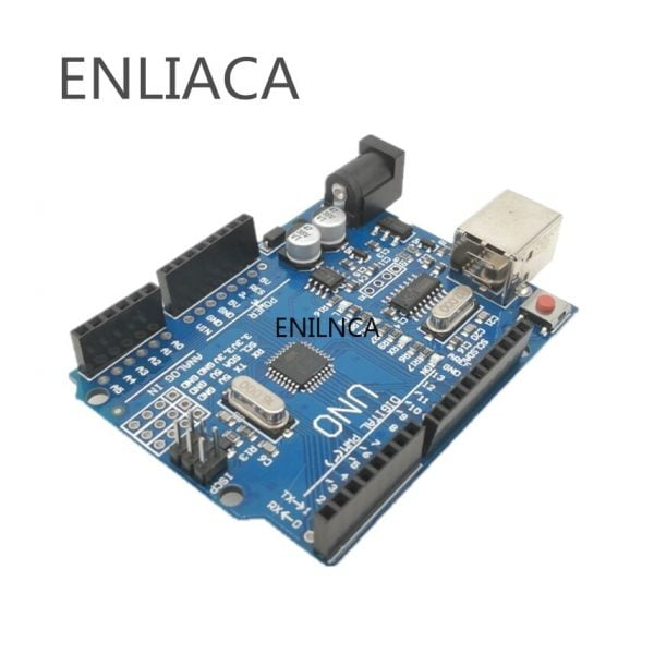 1PCS UNO R3 UNO board UNO R3 CH340G MEGA328P Chip 16Mhz For Arduino UNO R3 Development board Power Adapter