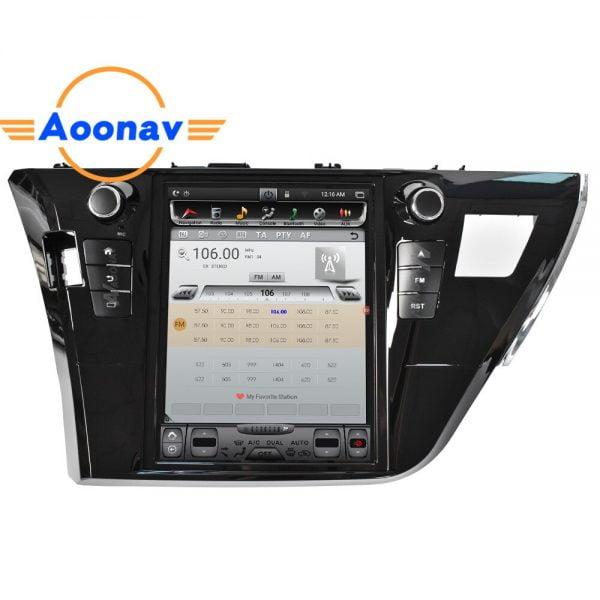 2din android car radio multimedia player FOR-Toyota Corolla 2014 2015 2016 multimedia GPS navigation autoradio MP3 player