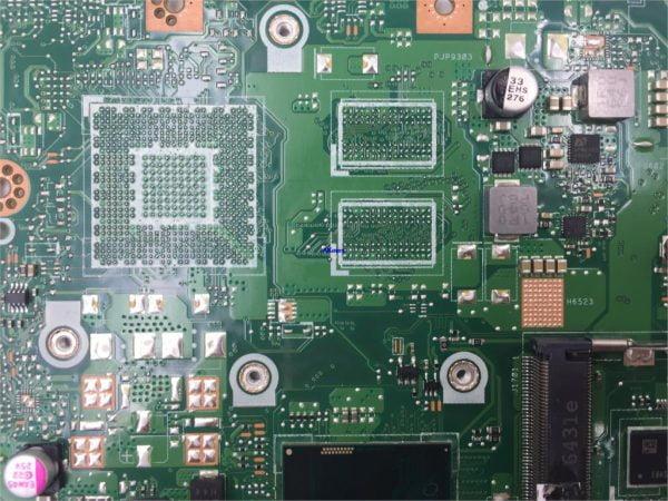 Akemy X456UAK Laptop motherboard For Asus VivoBook X456UA X456UV X456UQk X456UAM X456UAK mainboard 4GB-RAM I7-7500U DDR4