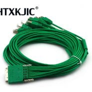 CAB-HD8-ASYNC 68pin to 8 x RJ45 Cable connectors 3m 10ft 8-port EIA-232 Async for HWIC-16A HWIC-8A Network Router switche Cable