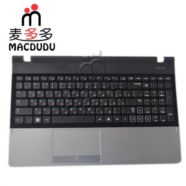 خرید کیبورد لپ تاپ سامسونگ New For Samsung 300E5A 305E5A NP300E5A NP300E5C RU Keyboard With Palmrest &
