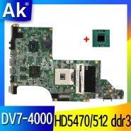 خرید مادربرد لپ تاپ از علی اکسپرس AK laptop motherboard for hp pavilion DV7T DV7-4000 609787-001 hm55 ATI ATI HD5470/512 ddr3 DA0LX6MB6H1 DA0LX6MB6F2