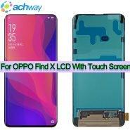 خرید تاچ و ال سی دی گوشی اوپو فایند ایکس Black 6.42″ LCD Display OPPO Find X Screen With Touch Screen Digitizer Assembly Original FindX Replacement Parts