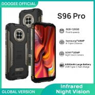خرید گوشی دوجی از علی اکسپرس DOOGEE S96 Pro mobile phone Smartphone 48MP Round Quad Camera 20MP Infrared Night Vision Helio G90 Octa Core 8GB 128GB 6350mAh
