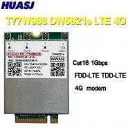HUASJ T77W968 For Dell DW5821e LTE Cat16 GNSS 5G WWAN Card Module for Lattitude 5420 5424 7424 Rugged Latitude 7400 / 7400 2-in