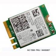 خرید برد وای فای لپ تاپ Intel Dual Band Wireless-AC 7260 WiFi BT 4.0 Combo card For Lenovo Thinkpad Y40 Y50 X240 T440 Series ,
