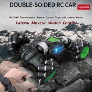 JJRC Q78 2.4GHz RC Car Off Road Buggy Radio Control 4WD High Speed Climbing RC Car for Kids Toy Twist- Desert Drift Vehicle Gift