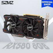 خرید کارت گرافیک ماینینگ از علی اکسپرس SZMZ New 100% Original Radeon Video Card RX 580 8GB GDDR5 256Bit Rx580 Graphics Card 8GB for Mining Non Gtx 960 1050 1060 GPU