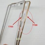 "TEHXV 1PCS Front Bezel Housing Frame For Samsung Galaxy Tab S 10.5″ T800 T805 T805C /8.4"" T705 T700"