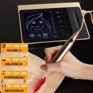 Touch Screen Rechargeable Battery US/EU Plug Permanent Makeup Machine Kit Eyebrow Lip Eyeliner Machine With 2 Cartridge Neeldes
