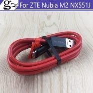 خرید کابل شارژر گوشی نوبیا 2PCS Original For Nubia M2 USB QC4.0 Type-C 26W 5.2A Fast Charging Charger Cable USB-C Cabel for Nubia M2 M 2 NX551J