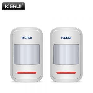 2pc-4pc-Lot-KERUI-433Mhz-Wireless-Intelligent-PIR-Motion-Sensor-Detector-For-GSM-PSTN-Home-Alarm