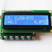 CU50 PT100 RTD Calibrator for RTD Calibration Resistance Duty Cycle PWM Frequency Signal Generator PT100 Simulator Module