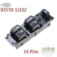 Car Accessories 93570-1J102 935701J102 202008158 Power Window Switch For Hyundai i20 Auto Parts