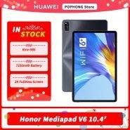 خرید تبلت مدیاپد از علی اکسپرس HONOR Mediapad V6 10.4 inch Tablet PC 2K screen Kirin 985 Octa Core 5G Dual Model HONOR Tablet V6 10.4 WiFi 6