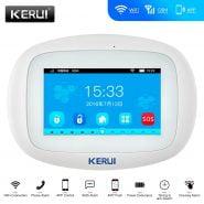 سیستم آلارم KERUI K52 WIFI GSM Alarm System 4.3 Inch Large Color Touch Display APP Remote Control Home Security