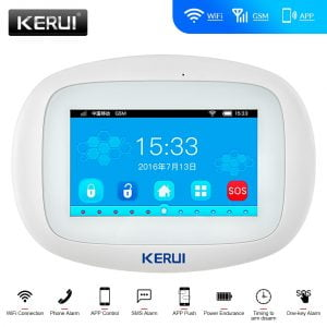 KERUI-K52-WIFI-GSM-Alarm-System-4-3-Inch-Large-Color-Touch-Display-APP-Remote-Control