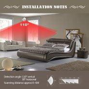 سنسور حرکتی KERUI P829 Wireless PIR Motion Detector for KERUI Home Alarm System Smart Home