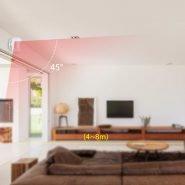 سنسور حرکتی KERUI Wireless Mini PIR Motion Sensor Alarm Detector With magnetic swivel base For G18 W18 Home