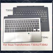 کیبورد ایسوس New For Asus Transformer Pro T303 T303U T303UA T304 T304U T304UA keyboard Dock with Touchpad 2 in 1