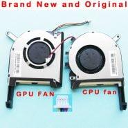 New Original CPU GPU laptop cooling fan cooler for ASUS FX705 FX705G FX705GM FX86 FX86SM FX505 FX505D FX505DU FX95G FX95D FX96G