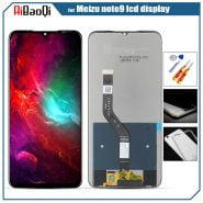 Original For Meizu note 9 Touch Screen Digitizer for Meizu note 9 LCD Display 6.2″ Cellphone Black Color IPS 2244*1080