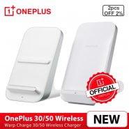 خرید شارژر وان پلاس از علی اکسپرس Original OnePlus 9 Pro, OnePlus 8 Pro Warp Charge 50W/30W Wireless Charger US 50W Max Support EPP 15W/BPP 5W