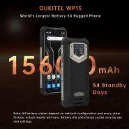 خرید گوشی اوکیتل از علی اکسپرس  Oukitel wp15 Rugged Smartphone 8GB 128GB 6.5″HD Octa Core 15600mAh Android11 Mobile Phone 48MP MT6833