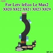 cltgxdd For Letv leEco Le Max2 Max 2 X820 X822 USB Port Charging Board Flex Cable X821 X823 X829 USB Board With Microphone