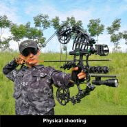 2021 New Bow And Arrow Composite Bow Steel Ball Dual Purpose Bow Outdoor Hunting Competitive Archery Launch Composite Bows