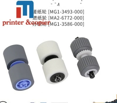 خرید قطعات دوربین کانن 2sets MG1-3493 MA2-6772 MG1-3586 scanner roller kit for CANON DR-6080 7580 9080C scanner pick up roller kit