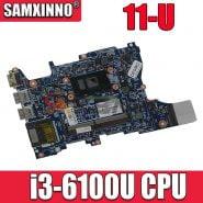 خرید مادربرد لپ تاپ اچ پی از علی اکسپرس Akemy 855721-601 855721-001 mainboard for HP Pavilion x360 Convertible 11-U Laptop motherboard i3-6100U fully