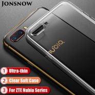 خرید کیس گوشی زد تی ای Clear Silicone Case for ZTE Nubia Z17 Lite Soft Case for ZTE Nubia M2 Phone Cover for ZTE Z11 Mini S/ M2 Lite TPU Case Capa