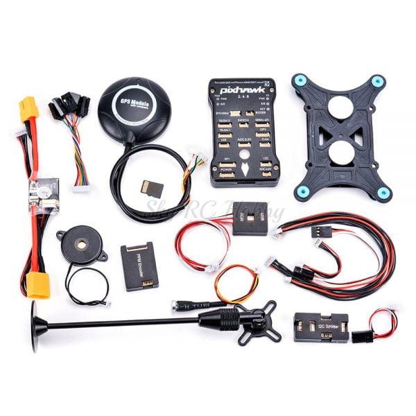 F450 450mm X500 S500 Quadcopter Frame PIXHAWK Pix 2.4.8 Flight control M8N GPS I2C PPM RGB PM Module 2212 Motor 40A 2-4S ESC