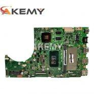 K401UB Laptop motherboard para ASUS K401U A401U K401UQ A401UQ V401UQ K401 Teste mainboard original 4G RAM I7-6500U GT940M