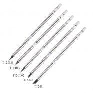 Lead-Free T12 Soldering Tip T12-K T12-JL02 T12-ILS T12-BC3 Welding Solder Tips for Hakko FX951 Soldering Station Rework Tools