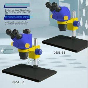 Mechanic-D65T-Digital-Para-Electronica-Soldering-Microscope-Camera-Optical-Objective-6-5X-65X-Continuous-Multiplier-Microscopio