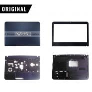 New Original for Sony Vaio VPCEG LCD Back Cover Rear Lid Case 60.4m814.014/ Front Frame Bezel Blue 14 Inch