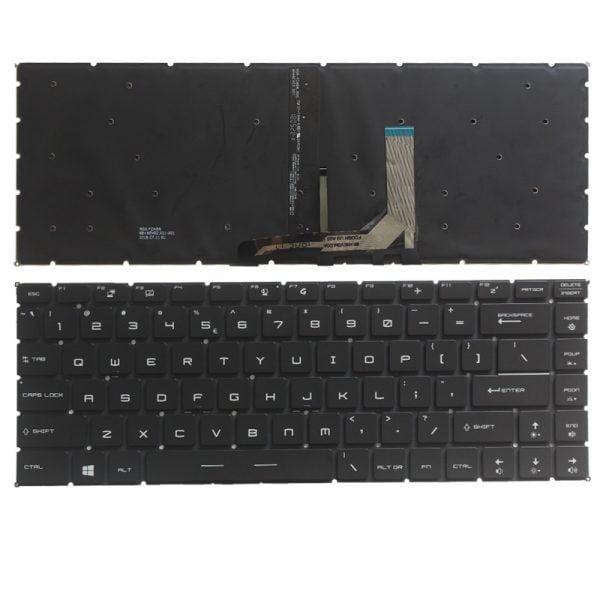 New for MSI GS65 GS65VR MS-16Q1 GF63 8RC 8RD MS-16R1 MS-16R4 GF65 Thin 9SD 9SE 10SD MS-16W1 laptop US English keyboard بک لایت